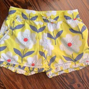 Mini Boden floral shorts